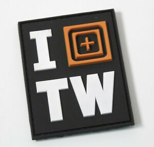 5.11 TACTICAL ***I <scope> TAIWAN *** 3D PVC MORALE PATCH ~ AMAZING !