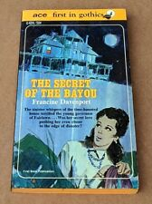 THE SECRET OF THE BAYOU - Francine Davenport / 1967 Ace Gothic G-624 UNREAD PBO