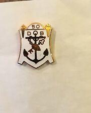 50 Year Navy Pin