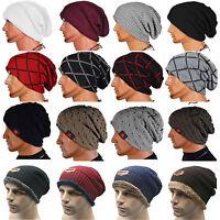 Beanie Knit Hat Men Women Winter Warm Caps Slouchy Casual Hats Unisex Stylish