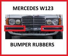 Mercedes W123 Front Bumper Rubber Set - 2 Short Pieces