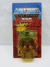 MOTU,VINTAGE,TRI-KLOPS,Masters of the Universe,MOC,carded,sealed,figure,He-Man ^