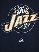 "UTAH JAZZ Basketball Adidas ""THE GO-TO TEE"" t-shirt Adult size Large"