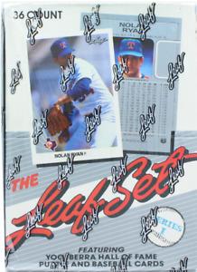 1990's Bowman Donruss Fleer Pinnacle Score Topps Ultra Upper Deck Baseball Cards