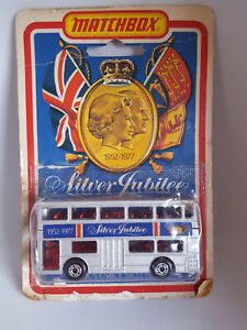 Matchbox Superfast Limited Edition 1972 No.17 The Londoner Silver Jubilee Bus