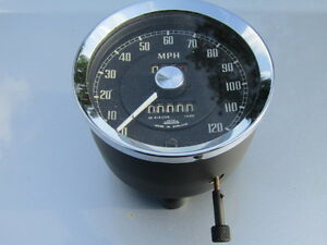 MGA SPEEDO / SPEEDOMETER ONLY AVAILABLE ON EXCHANGE MPH or KPH