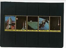 Manama 1972 Mi#963-967A Space Research Strip Of 5 Stamps Mnh