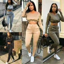 Womens Co Ord Tracksuits Set Ladies Jogging Joggers Active Sport Loungewear set
