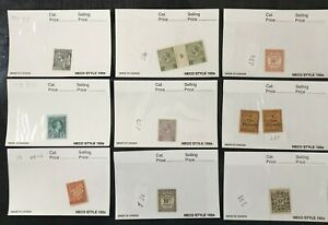 MONACO Small Collection of over 80 stamps All Mint V VLH =1 SHOW All OG VF (K1)
