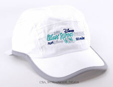 NEW Disney Princess Marathon 2015 Glass Slipper Challenge Run Disney White Hat