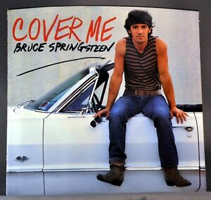 """Bruce SPRINGSTEEN Cover Me b/w Jersey Girl Orig. 1984 US 7"""" VINYL Record New +PS"""