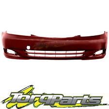 FRONT BAR COVER RED SUIT TOYOTA CAMRY CV36 02-04 SERIES 1 BUMPER