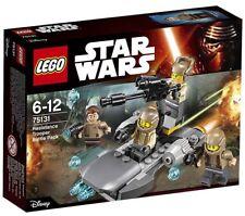 LEGO 75131 PACK DE COMBATE DE LA RESISTENCIA (STAR WARS). NUEVO EN CAJA.