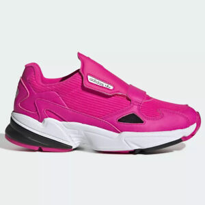 Adidas Original Falcon RX Women Athletic Running Sneaker Pink Casual Tennis Shoe