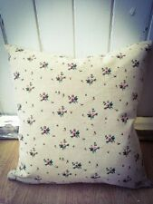 Handmade Floral Linen Blend Decorative Cushions