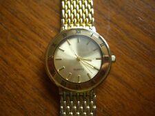 Mens / Womens Gold Plated Wrist Watches Quartz Watch Bracelet