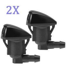 2x Windshield Wiper Water Washer Nozzle For 2005-2010 Pontiac G6,2006-04 Sienna