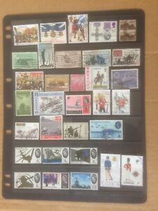 Military & War On Stamps