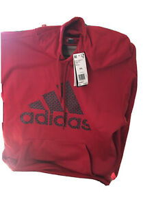Mens Adidas Bod grid Team Issue Hoodie 2XL    FR 8274 Red Retail:$55