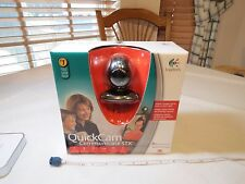 Logitech QuickCam (961464-0403) Web Cam NOS communicate STX camera CHAT PC mess
