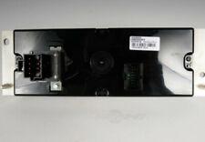HVAC Control Panel ACDelco GM Original Equipment fits 01-05 Pontiac Montana