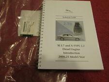 JAGUAR XJ 2.7 & X-TYPE 2.2 DIESEL TECHNICAL GUIDE BOOK