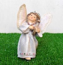 LES ALPES 006 4962 E-ANGELO IN RESINA C/LIRA-ALI MORBIDE-DA APPENDERE-CM.10