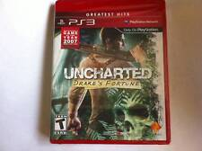 BRAND NEW Uncharted: Drake's Fortune(Playstation 3, 2007)Red box