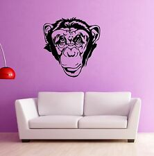 Wall Stickers Vinyl Decal Monkey Jungle Animal Nursery for Kids Room (ig910)