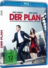 Blu-ray DER PLAN # Matt Damon, Emily Blunt # n. Philip K. Dick ++NEU