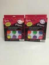 Lot Of 2 Blingirls Sparklz Tattoos Neon Free Shipping Double The Fun