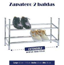 ZAPATERO METALICO 2 BALDAS 12 PARES ORGANIZADOR DE ZAPATOS GUARDA ZAPATOS