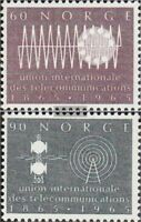Norwegen 526-527 (kompl.Ausg.) postfrisch 1965 UIT