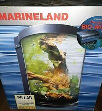 Marineland 6 Gallon Aquarium Kit, Pillar , Cylinder Style