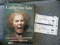 Catherine TATE Nan Official Tour Programme and Tickets