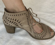 Vince Camuto shoes sandal booties 9.5 taupe