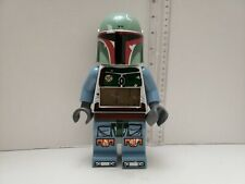 "Lego Star Wars ""Boba Fett Alarm Clock"" Rare And Hard To Find- Fast shipping"