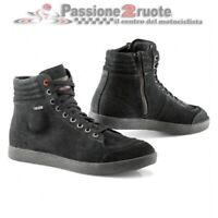 Scarpe moto Tcx X-Groove goretex nero black shoes GTX