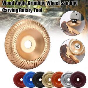 100mm Carbide Wood Sanding Carving Shaping Disc For Angle Grinder Grind Wheel