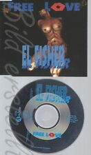 CD--EL FISHER--FREE LOVE