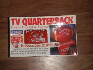 New Vintage  Kansas City Chiefs TV Quarterback Arm Chair Holder NFL Football!!