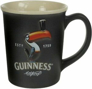 Guinness Large Embossed Toucan Ceramic Mug (sg)