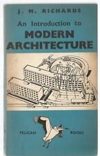 J M Richards - An Introduction to Modern Architecture - Pelican PB 1940 first ed