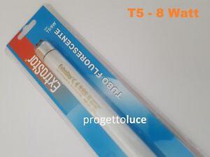 LAMPADINA TUBO FLUORESCENTE NEON 8W T5 ATTACCO G5 6500 K  MATERIALE ELETTRICO