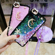 Dynamic Liquid Glitter Quicksand Soft TPU phone Case Cover For Samsung Galaxy #