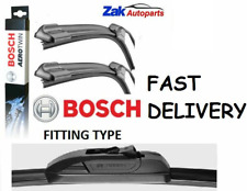 FOR VAUXHALL INSIGNIA (08-) all models FRONT FLAT WIPER BLADES BOSCH AEROTWIN