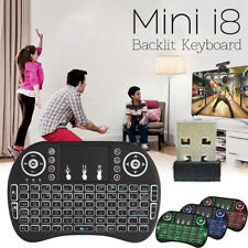 i8 2.4G Wireless Keyboard Backlight Air Mouse Touchpad for PC Smart TV BOX Hot