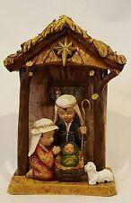 Christmas Nativity Baby Jesus Holy Family Mary Joseph Lamb Manger One Piece