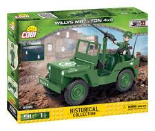 BRICKS COBI 2399 SMALL ARMY Willys MB 1/4 Ton 4x4 91 ELEMENT 1 FIGURE