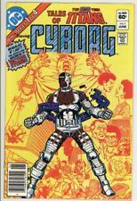 Tales Teen Titans Cyborg 1 - Bronze Age Classic - High Grade 9.4 NM
